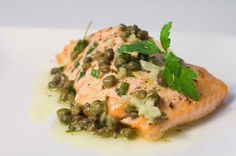 Health is Wealth Journal: Baked Salmon with Lemon Caper Butter