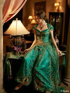 Aladdin new cosplays Disney Princesa Jasmine, Disney Jasmine, Aladdin And Jasmine, Disney Princess Dresses, Disney Dresses, Aladdin Wedding, Princess Jasmine Costume, Jasmine Costume Kids, Snowwhite And The Huntsman