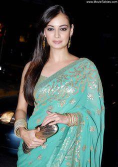 Indian Actor Dia Mirza