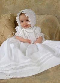 Платье для новорожденных для крещения