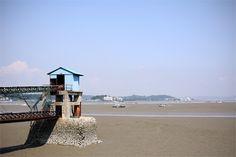 금강, 군산, 대한민국 (Geum River, Gunsan, South Korea)