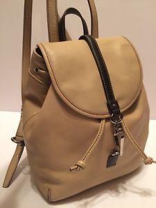 Coach Studio Legacy Beige Leather Backpack Handbag Purse 9368