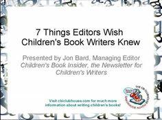 writing childrens books free video series
