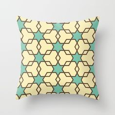 Retrostar #1 (By Salomon) #design #fashion #heart #cojin #pillow #cushion #interior #decor #home #decoration #casa #decoracion #marble #marmol #texture #stars #universe #retro #society6 @society6
