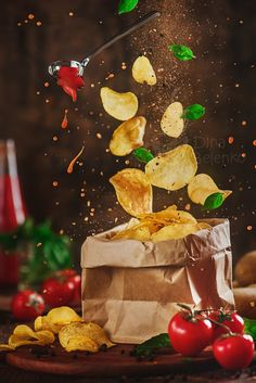 Tutorial: How To Make Food Levitate In Your Still Life Photos #thisweekpopular
