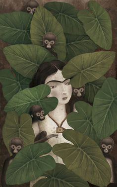"""When you go to sleep, where do you really go?"" ― Brian Lovestar, Dream Myself Alive  - (art by Gabriel Pacheco)"