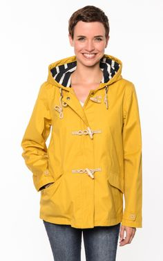 16a41388336a Seasalt Regenjacke Seafolly Mustard - Gelb - Friesennerz gelbe Regenjacken  Öljacken - Maritime Mode Friesennerze Regenbekleidung gelbe Regenmantel  gelb ...