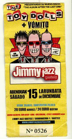 Toy Dolls en la Jimmy, un divertido concierto a pesar de un poco de trripilla se mantienen en forma