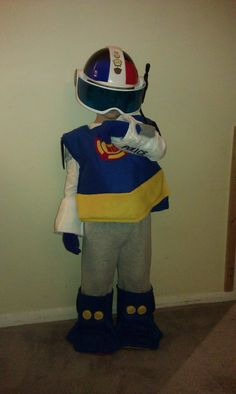 DIY Transformer Rescue Bot Costume