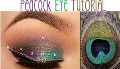Younique by Kristen Morton: Peacock Eye Tutorial