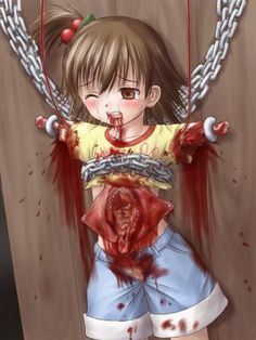 anime gore...guro...eroguro...creepy