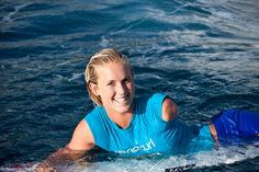 Bethany Hamilton is a true soul surfer. Being attacked by a 14ft tiger shark couldn't shake this girls faith in God or determination to live her dream. She believes it was all meant for a greater purpose and today she's living proof as her story inspires the world.