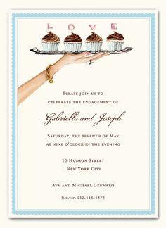 Bonnie Marcus Collection BMC LTI and BRIDAL SHOWER INVITATIONS, LOVE CAKES, BONNIE MARCUS