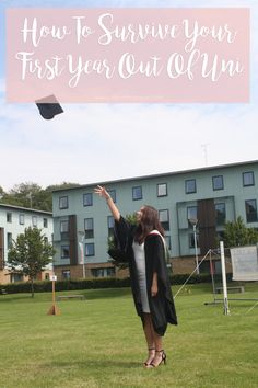 How To Survive Your First Year Out Of Uni!  www.taneshajade.com