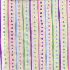 Basic Baby Stripes and Dots Pastel Cotton by Kinderbibbles on Etsy, $3.00