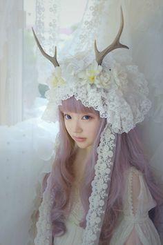 Super cute Mori Girl style