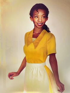 Tiana – The Princess and the Frog: Female Disney Characters in Real Life by Jirka Väätäinen