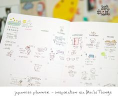 Wouldn't it be a great idea to use a planner like this to make a tiny sketch-a-day?