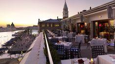 25th Anniversary here!  Loved the view from Terrazza Danieli Restaurant