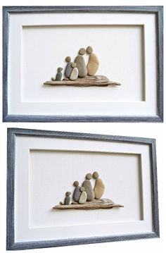 Family portrait, Pebble art family and dog, Driftwood art, Family wall art, Family picture, Beach stone art #Familypicture #pebbleart #wallart #familywallart #stoneart #doglovers #familyportrait #mixedmidea #3Dart #driftwoodart #handmade #hancrafted #familygifts #Christmasgift #giftideas #shopping #shopetsy #etsyshop #Christmasshopping
