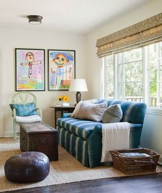 """A good sofa is important, especially if you have a family,"" says interior designer Christine Markatos Lowe. ""An inexpensive sofa won't wear well and will look much older than its actual age over time."" On the flip side, save money on lesser-used pieces. ""Look for inexpensive options on accent tables, side chairs, and secondary furniture,"" says interior designer Nicole Fuller."