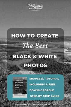 In this Snapseed black and white tutorial, you're gonna learn exactly how to create the perfect black and white photos. With Before and After Snapseed examples. Outdoor Photography, Digital Photography, Amazing Photography, Travel Photography, Creative Photography, White Photography, Photography Lessons, Photography Tutorials, Learn Photography