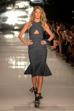 Colcci @ São Paulo Fashion Week summer 2015 - Gisele Bündchen