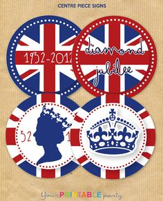 Your Printable Party: Jubilee Party FREE Printables!