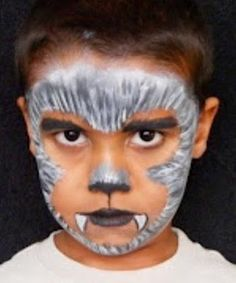pintacaras-maquillaje-hombre-lobo-infantil-disfraz-niños-halloween