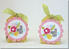 Nugget Treats with stamps from #PapertreyInk by Tammy Hershberger