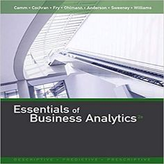 Cornerstones of managerial accounting 5th edition pdf download 9781305627734 1305627733 essentials of business analytics 2nd edition by camm cochran fry ohlmann and anderson solution fandeluxe Images