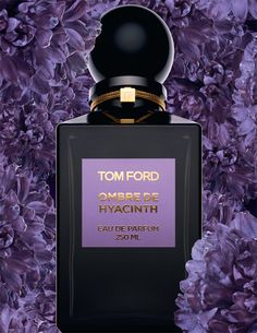Ombre de Hyacinth by Tom Ford is a Floral fragrance for women and men. Ombre de Hyacinth was launched in The nose behind this fragrance is Calice . Perfume Tom Ford, Perfume Scents, Fragrance Parfum, Perfume Bottles, Musk Perfume, Perfume Floral, Tom Ford Private Blend, Posters Vintage, Dolce E Gabbana