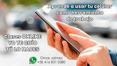 @omarjaimes8 #Clases #ONLINE #Android YO TE GUÍO TU LO HACES Contacto: 58 416-831-0380 #tecnologia #aprender #celular #aplicaciones #clase #teacher #teach #whatsapp - #regrann