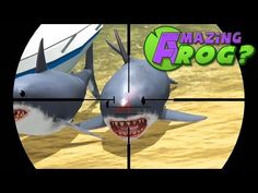 Amazing Frog - SHARK SNIPING - PC Gameplay Part 18   Pungence - YouTube