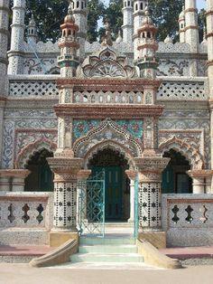 "Chini Masjid: A ""Chini Tikri"" Spectacular, Saidhpur, Nilphamari, Bangladesh"