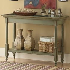 Mayfield console table