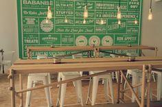 Das Babanbè in Berlin ist der Hotspot für franco-vietnamesische Bhan Mi Sandwiches und für die Eröffnung der zweiten Filiale hat Sascha Grewe exklusive Tische entworfen. Inspiriert von der asiatisc...