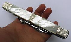 Sheffield exhibition knife sold from my collection. More here. www.etsy.com/shop/GoldenHourMinerals