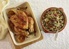 Whether you're celebrating Rosh Hashanah or just fancy an alternative to the classic roast, this succulent honey roast chicken tastes great
