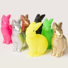 Rabbit lamps by Egmont Toys