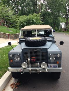 1971 Land Rover Series 2a 88. Oh the things I would buy if I had more money than the other guy!
