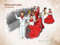Forma parte de los desfiles y danzas callejeras del Caribe, su vestuario y ritmo forman parte de la cumbia http://www.danzaenred.com/articulo/bailes-de-comparsa-y-carnaval-region-caribe#Sigaladanza