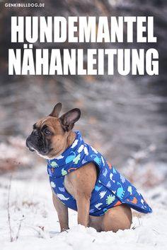 DIY Hundemantel Nähanleitung auf www.genkibulldog.de