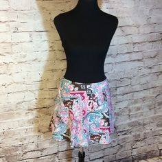 ❌FINAL PRICE ❌🌺FLORAL PRINT SKIRT BUNDLE🌺 2 pretty junior skirts with gorgeous vibrant colors. Like new both are lined Skirts