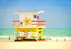 "Miami Beach.    "":O)"