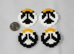 Image result for perler bead overwatch ana
