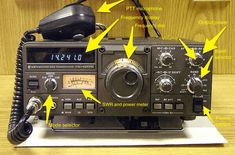 How to Use a Ham Radio When (With Pictures) - Ask a Prepper Radios, Survival Prepping, Emergency Preparedness, Survival Shelter, Homestead Survival, Survival Mode, Survival Skills, Hf Radio, Ham Radio Operator