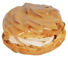 Větrník - Czech butterscotch-topped swirly choux-paste bun mm!