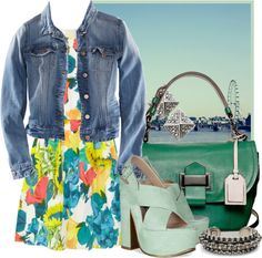 """""""Florals with a Twist"""" by ssquared on Polyvore"""