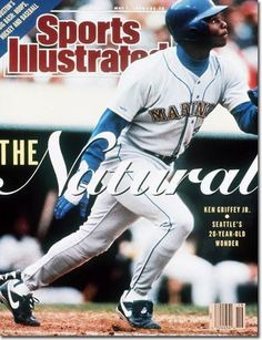 55a63d37982 Mariners Ken Griffey Jr Signed May 1990 Sports Illustrated BAS